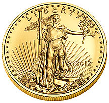 Uncirculated $50 Gold Eagle