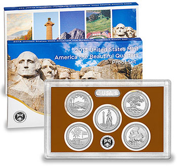 2012 America the Beautiful Quarters Proof Set