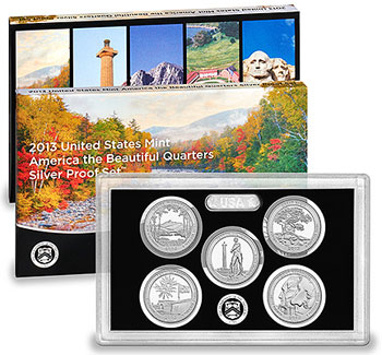 ATB Silver Proof Set