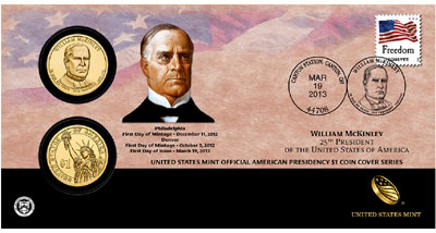 William McKinley Coin Cover