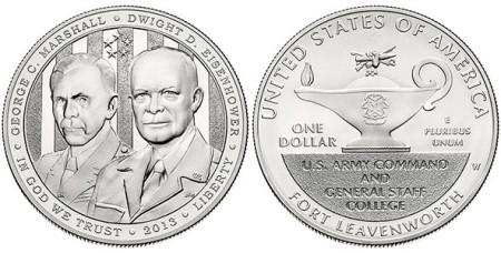 5-Star Generals Silver Dollar