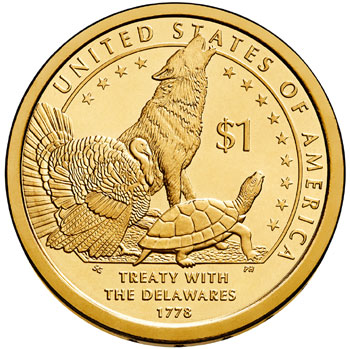 2013 Native American Dollar