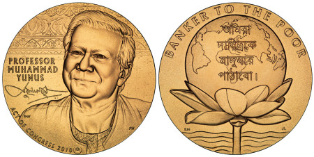 Muhammad Yunus Bronze Medal