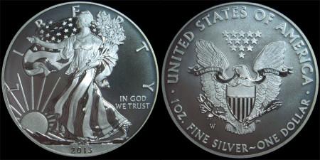 Enhanced Uncirculated Silver Eagle
