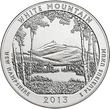 White Mountain Silver Coin