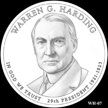 Warren G. Harding Presidential Dollar
