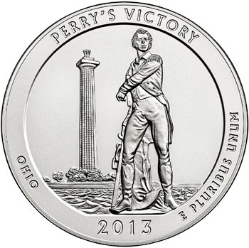 Perry's Victory Five Ounce Silver Uncirculated Coin
