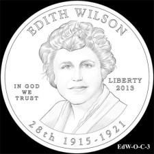 Edith Wilson Obverse