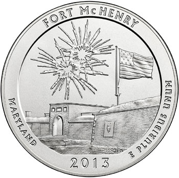 Fort McHenry Silver Coin