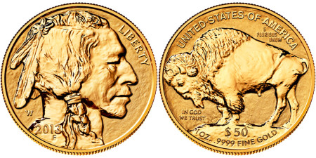 Reverse Proof Gold Buffalo