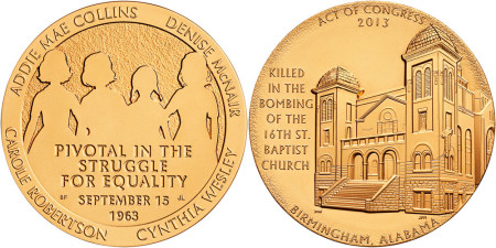 16th Street Baptist Church Bronze Medal