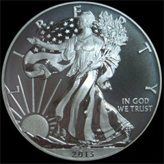 Enhanced Uncirculated Silver Eagle