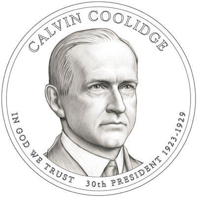 Calvin Coolidge Presidential Dollar