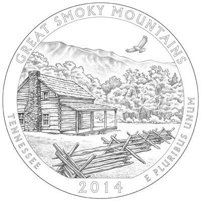 2014 Great Smoky Mountains Quarter