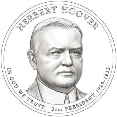 Herbert Hoover Presidential Dollar