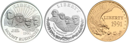 Mount Rushmore commemoratives