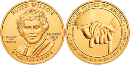 Edith Wilson Gold Coin