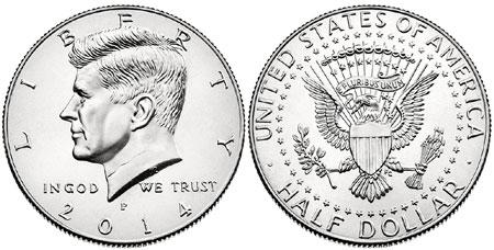 2014 Kennedy Half Dollar