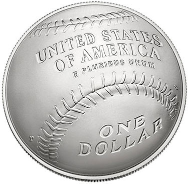 2014 National Baseball Hall of Fame Silver Dollar