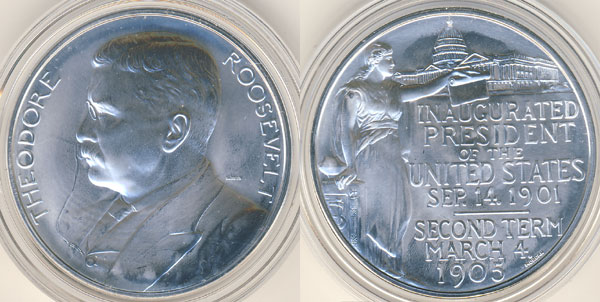 Theodore Roosevlet Silver Medal