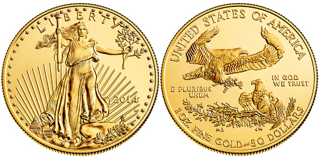 2014-W Uncirculated Gold Eagle