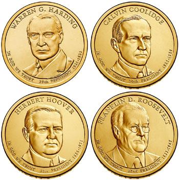 2014 Presidential Dollars