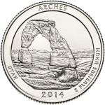 Arches National Park Quarter