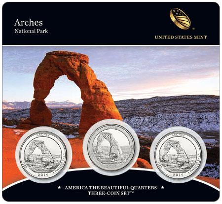 Arches National Park Quarter