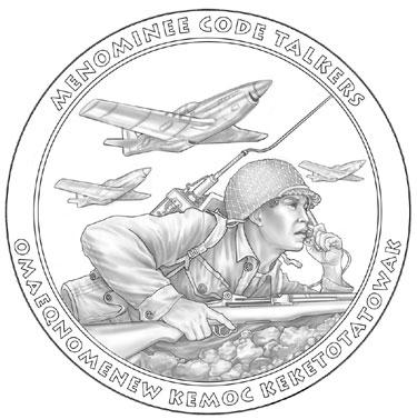 Menominee Code Talkers Medal