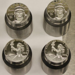 2014 Proof Platinum Eagle Coin Dies
