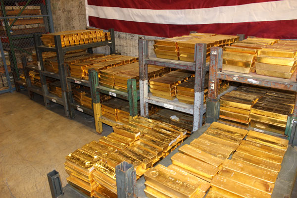 Gold And Silver Bullion Storage At The West Point Mint