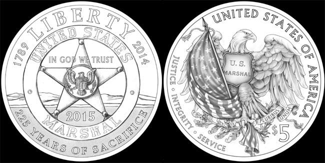 US Marhsls Gold Coin