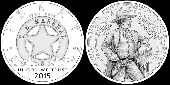 US Marshals Silver Dollar