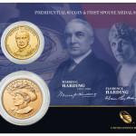 Warren G. Harding Coin and Medal Set
