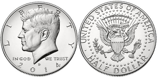 2014-D Uncirculated Silver Kennedy Half Dollar