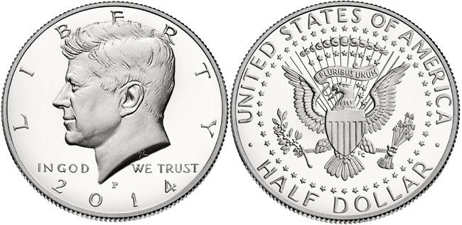 2014-P Proof Silver Kennedy Half Dollar
