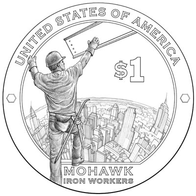 2015 Native American Dollar