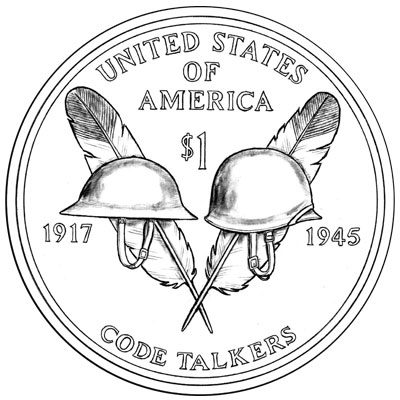 2016 Native American Dollar