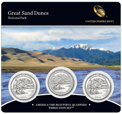 Great Sand Dunes Quarter Set