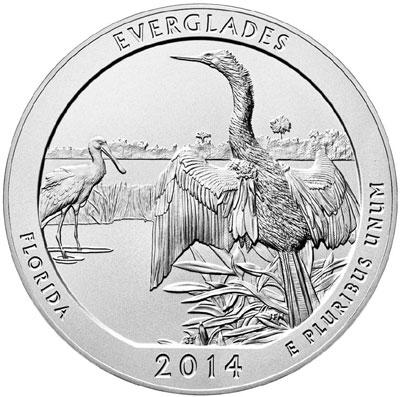 Everglades ATB Silver Coin