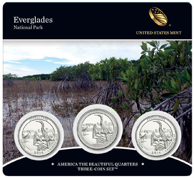 Everglades Three Coin Set