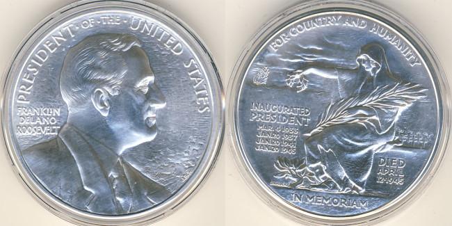FDR Silver Medal