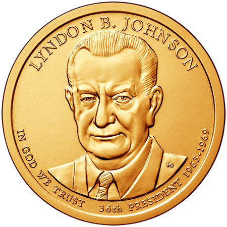 2015 Lyndon B. Johnson Presidential Dollar