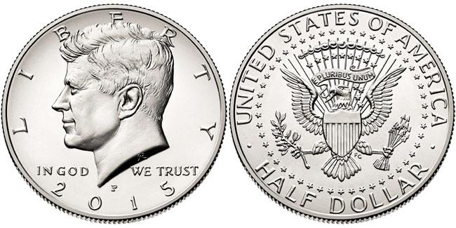 2015 Kennedy Half Dollar