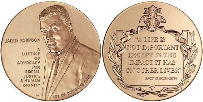 Jackie Robinson Medal