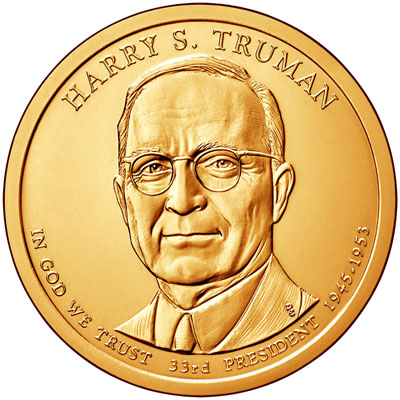 Harry Truman Presidential Dollar