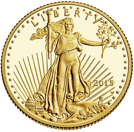 2015 Proof Gold Eagle
