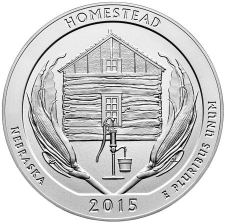 Homestead Silver Coin
