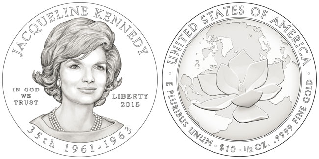 Jacqueline Kennedy First Spouse Coin