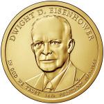 2015_Presidential-$1_Eisenhower_Unc_2000